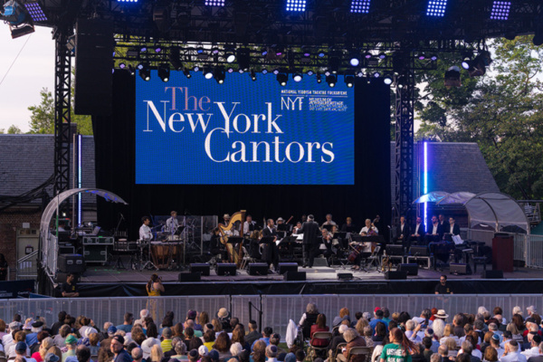 Photo Flash: The New York Cantors Appear In Concert At Capital One City Parks Foundation Summerstage