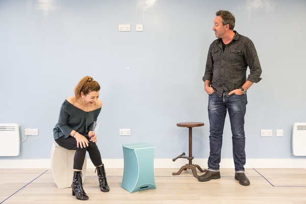 Photo Flash: In Rehearsal with DARK SUBLIME