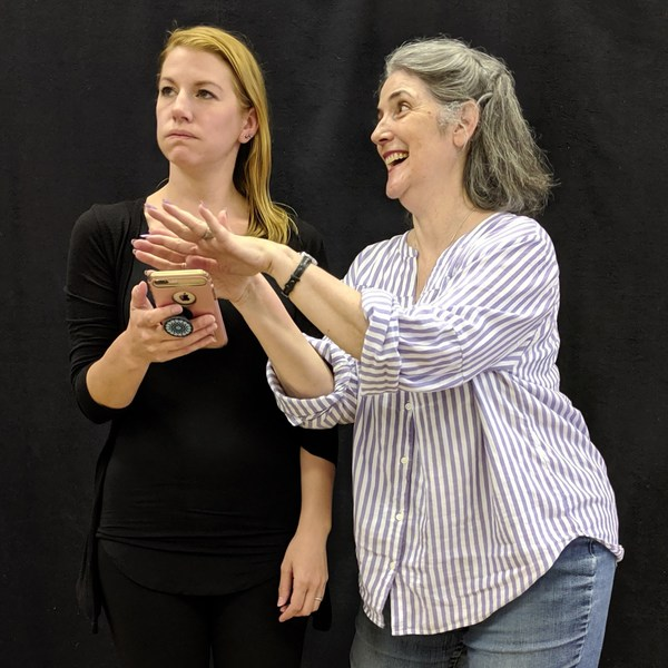Photo Flash: In Rehearsal With SPEND YOUR KIDS' INHERITANCE At Helen Gardiner Phelan Playhouse