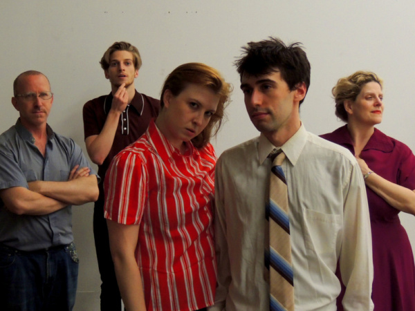 Jason Howard, Nathan Keiller, Caiti Latimer, Glenn Feinstein, and Catherine Porter. Photo