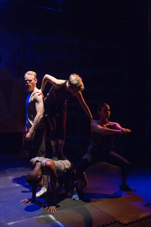 Photo Flash: First Look at Brown Paper Box Co.'s GRACE, OR THE ART OF CLIMBING