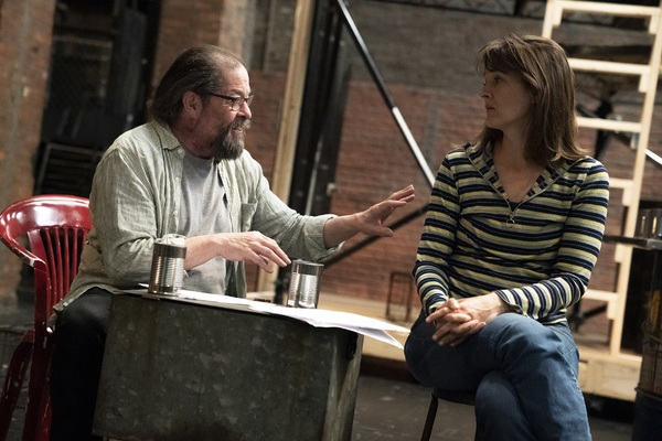 Photo Flash: In Rehearsal with The Public's CORIOLANUS