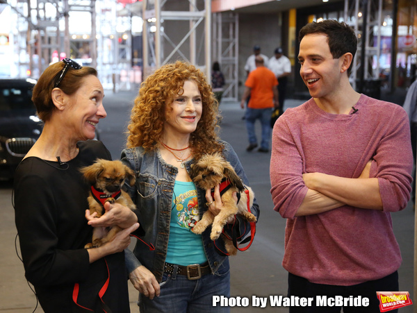 Exclusive Photo Coverage: Construction in Shubert Alley Leaves Broadway Barks Homeless for 2019