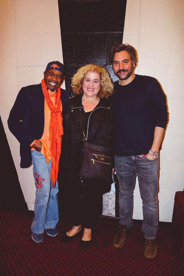 Ben Vereen, Mary Testa, Josh Radnor Photo