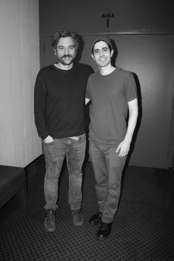 Photo Flash: Ben Vereen And Josh Radnor Stop By OKLAHOMA!