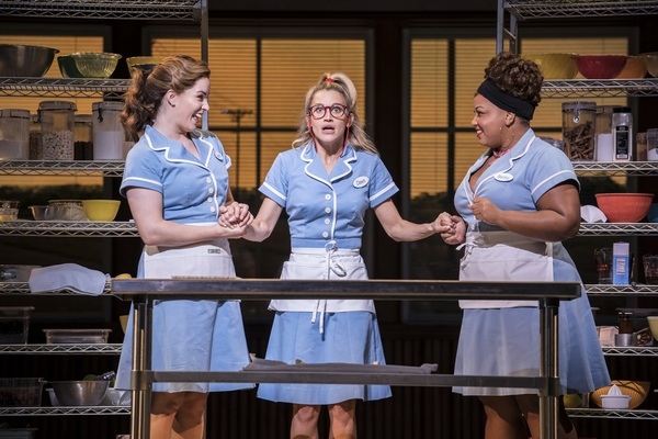 Photo Flash: Sweet as Can Be! First Look at Lucie Jones and the New Cast of WAITRESS