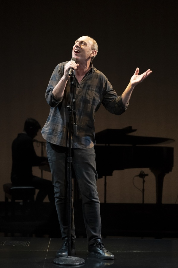 Photo Flash: First Look at David Cale in WE'RE ONLY ALIVE FOR A SHORT AMOUNT OF TIME