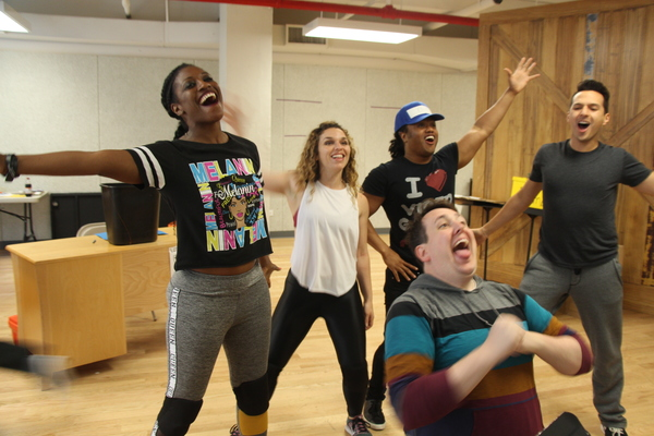 Photo Flash: Inside Rehearsals For TheatreWorksUSA's DOG MAN, THE MUSICAL