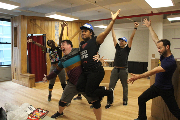 Photos: Inside Rehearsals For TheatreWorksUSA's DOG MAN, THE MUSICAL