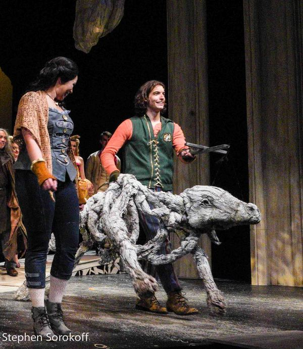Photo Coverage: Inside Opening Night of INTO THE WOODS at Barrington Stage Co.