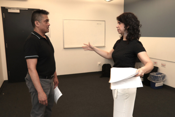 Photo Flash: In Rehearsal With Leviathan Lab's Workshop Of FULL CONTACT Starring Ariel Estrada