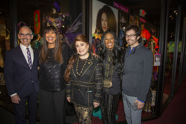 Councilman Mitch O'Farrell, Anita Pointer, Donelle Dadigan, Bonnie Pointer and Academy Award Winner for West Side Story George Chakiris