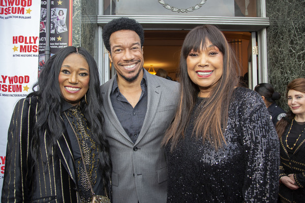 Bonnie Pointer, Rico Anderson (Orville) and Anita Pointer Photo