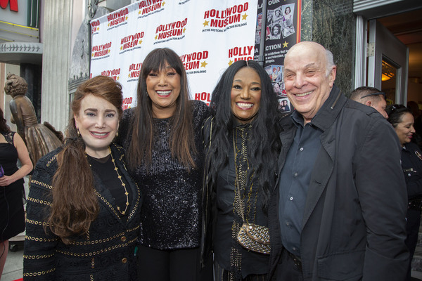 President and Founder of the Hollywood Museum Donelle Dadigan, Anita Pointer, Bonnie Pointer and Emmy/Grammy winning Composer Charles Fox