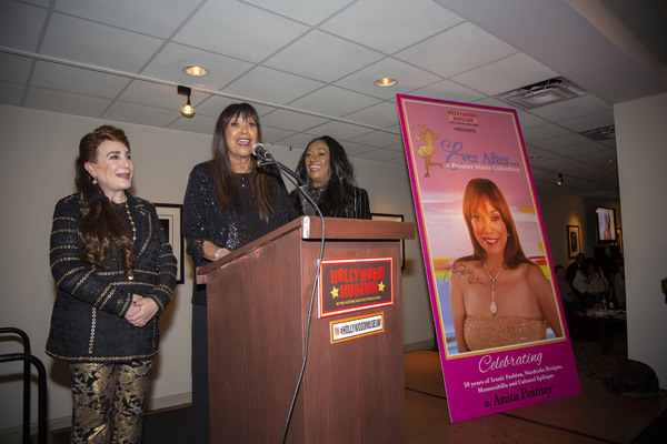 Donelle Dadigan, Anita and Bonnie Pointer on stage Photo
