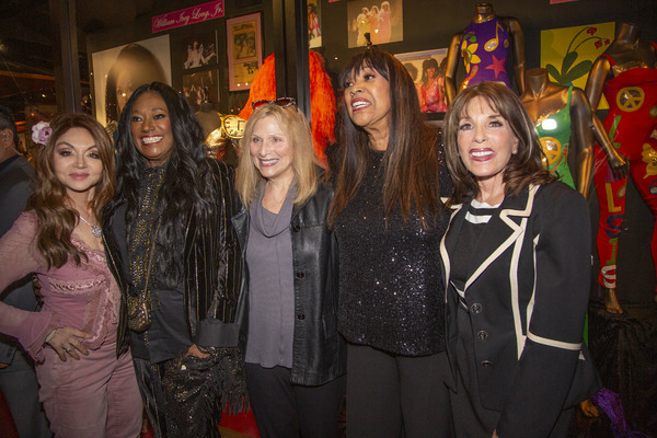 Comedienne Judy Tenuta, Bonnie Pointer, Roslyn Kind, Anita Pointer and Y&R actress Kate Linder