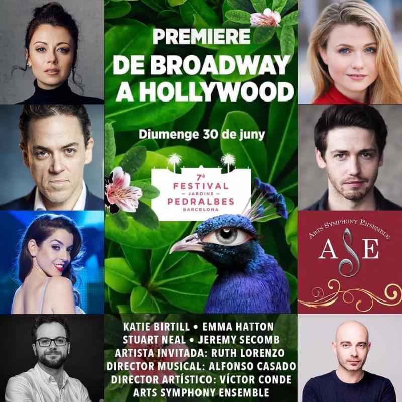 DE BROADWAY A HOLLYWOOD se estrena este domingo en Barcelona