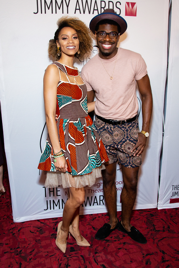 Photo Coverage: On the Red Carpet at the 2019 Jimmy Awards!