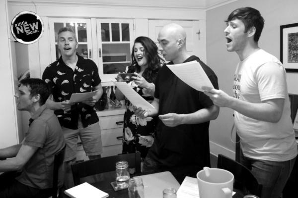 Gregory Nabours, director Luke Klipp, Kymberli McKenna, Kila Packett, and Christopher Maikish