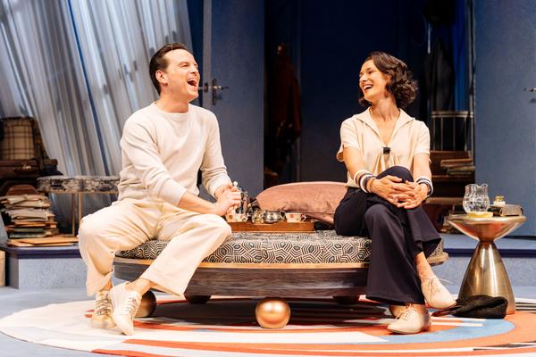 Andrew Scott and Indira Varma