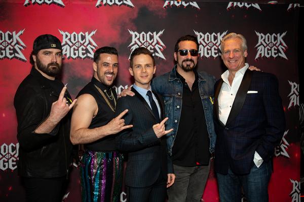 Photo Coverage: ROCK OF AGES Celebrates NYC Return!