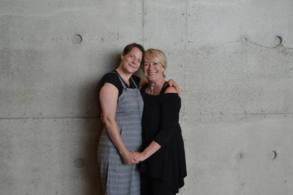 Kristen Van Ginhoven and Jayne Atkinson