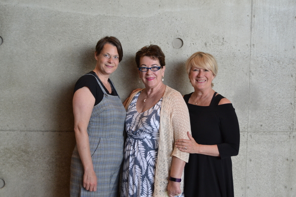 Kristen Van Ginhoven, Molly Smith and Jayne Atkinson