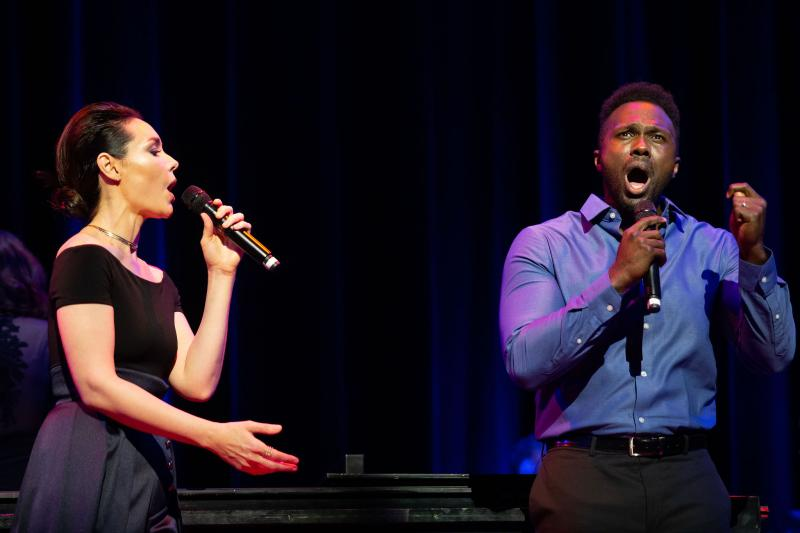 Photo Coverage: Stephen Sondheim, Shoshana Bean, Joshua Henry & More Join Jason Robert Brown at Town Hall!
