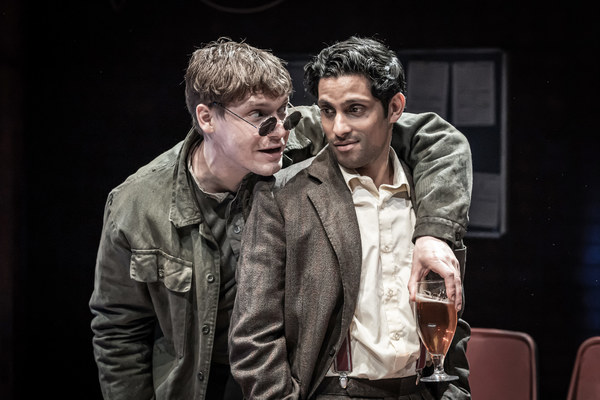 Photo Flash: First Look at EUROPE at Donmar Warehouse