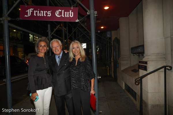 Photo Coverage: Marieann Meringolo Performs at the Friars Club & Joins The Legends On The Walls