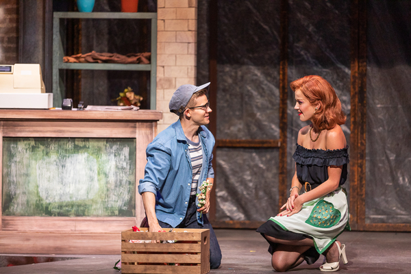 Andrew Keenan-Bolger, Lauren Zakrin Photo