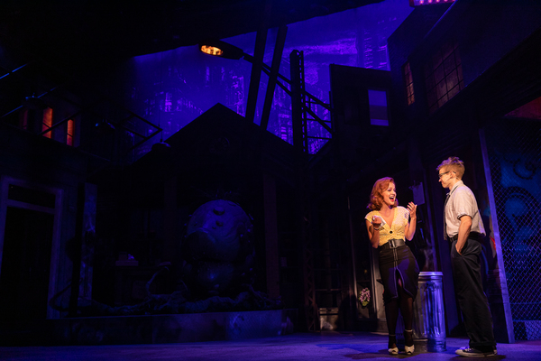 Lauren Zakrin, Andrew Keenan-Bolger Photo
