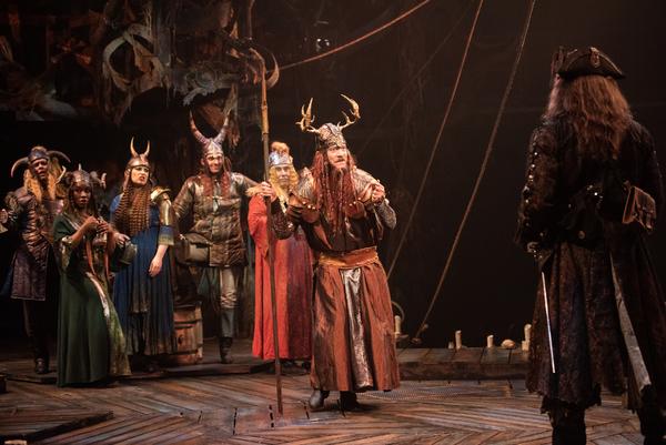 Photo Flash: BLACKBEARD Sails Into Signature Theatre