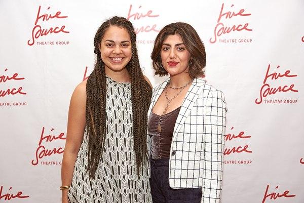 Kerry Warren and Aryana Sedarati  Photo