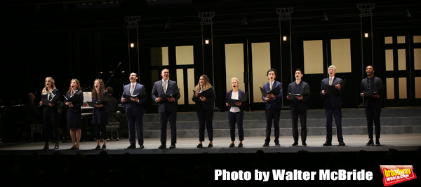 Helen Hunt, Andrea Burns, Tessa Grady, Javier Munoz, Christopher Jackson, Tracie Thom Photo