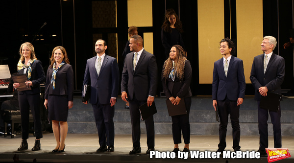 Photo Coverage: Encores! Off-Center's WORKING Cast Takes Their Opening Night Bows