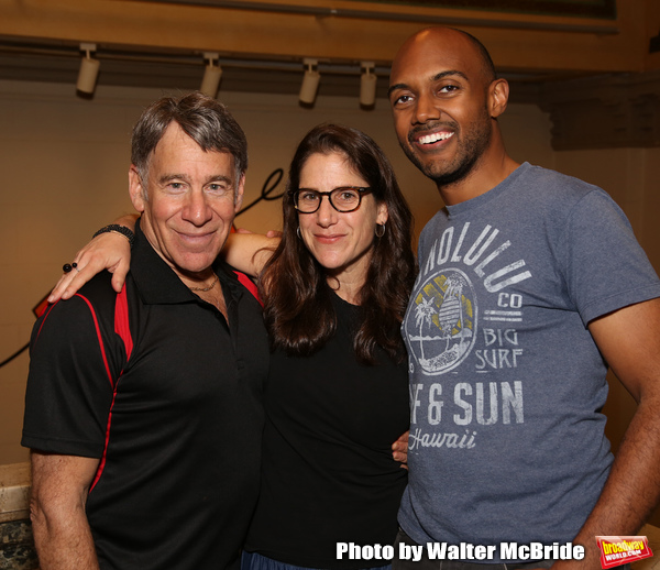 Stephen Schwartz, Anne Kaufman and Alvin Hough Jr.