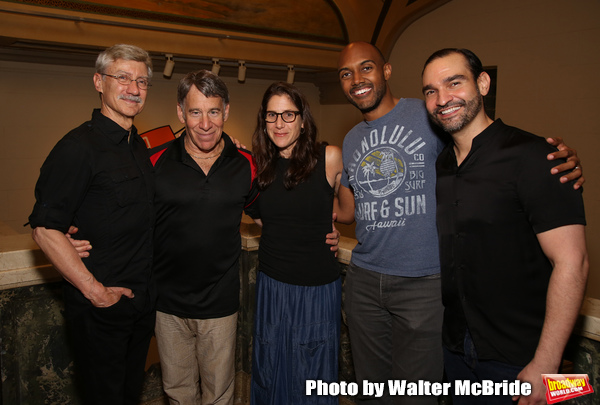David Garrison, Stephen Schwartz, Anne Kaufman, Alvin Hough Jr. and Javier Munoz