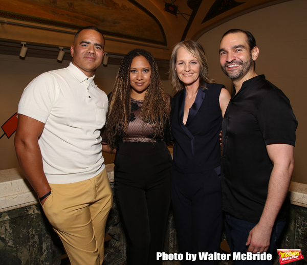 Christopher Jackson, Tracie Toms, Helen Hunt and Javier Munoz
