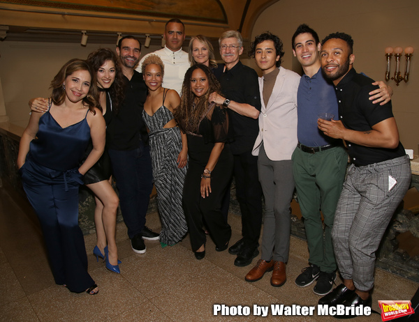 Andrea Burns, Tessa Grady, Javier Munoz, Tilly Evans-Krueger, Christopher Jackson, He Photo