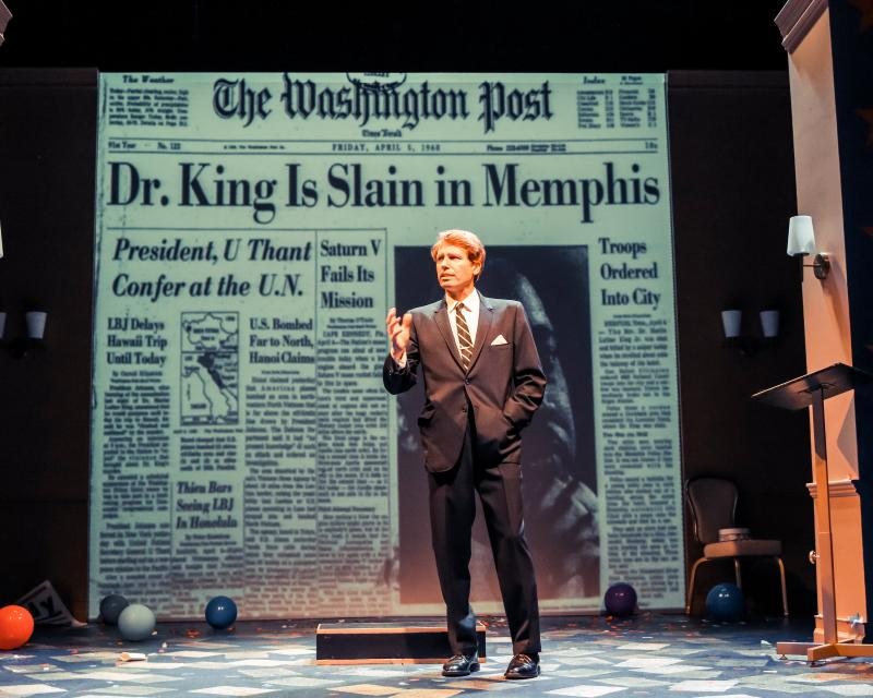 BWW Review: KENNEDY: THE LAST CRUSADE at Penguin Repertory Theatre