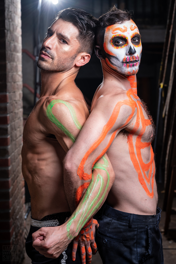 Photo Flash: Broadway Poses for Portraits Backstage at Broadway Bares!