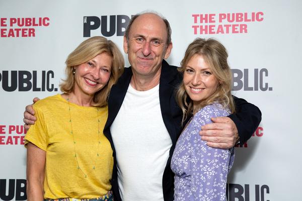 Laurie Eustis, David Cale, Ari Graynor Photo