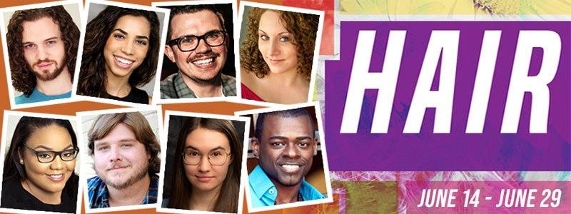 BWW Review: Roxy Regional Theatre's HAIR Will Knock Your Clothes Off, Thanks to Kinzer and Bowie