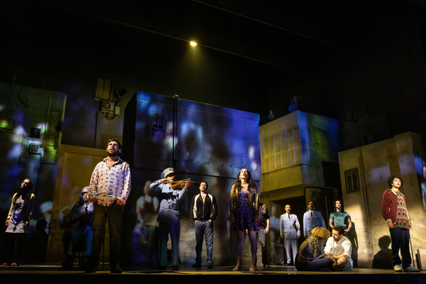 Photo Flash: Get A First Look At Chilina Kennedy And Sasson Gabay in THE BAND'S VISIT