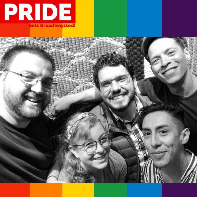 The 'Broadwaysted' Podcast Celebrates Pride with Esteban Castillo, Junior Mendez