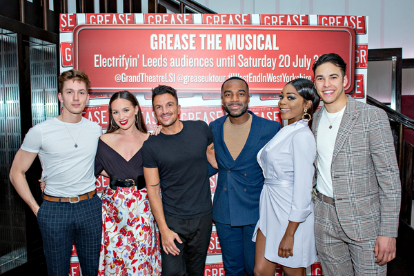 Photo Flash: The Cast of the UK and Ireland Tour of GREASE Meet the Press