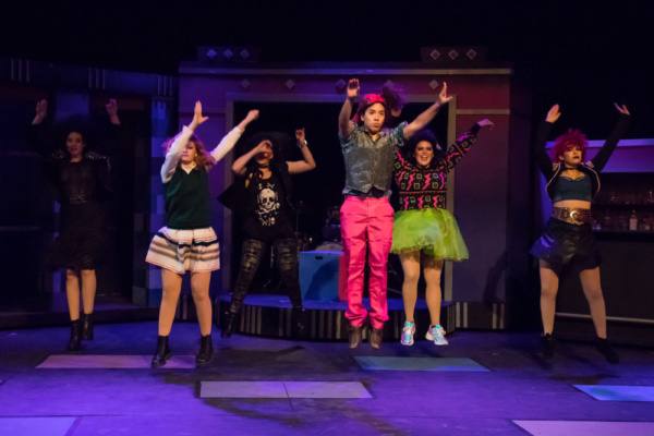 Photo Flash: First Look at THE WEDDING SINGER at The Morgan-Wixson Mainstage