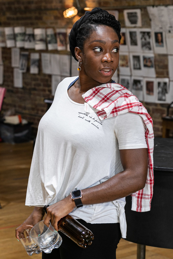 Photo Flash: Inside Rehearsal For THE VIEW UPSTAIRS at Soho Theatre