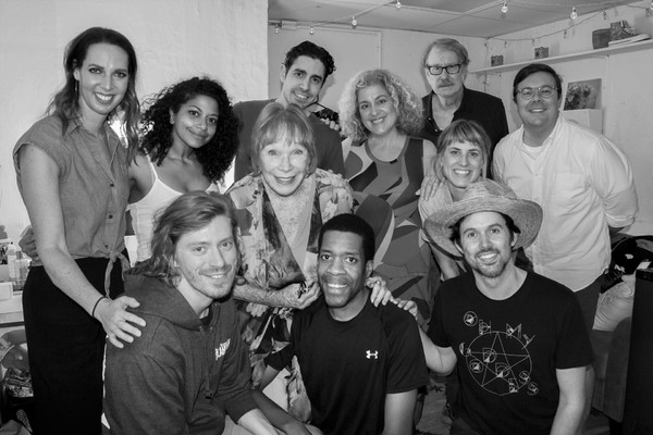 Photo Flash: The Legendary Shirley MacLaine Stops in at OKLAHOMA!